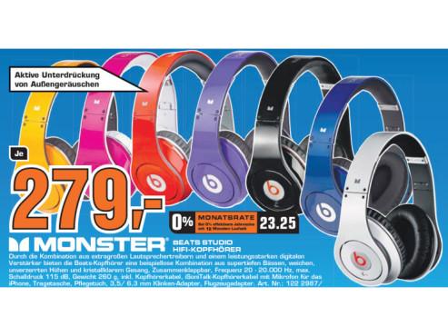 Monster Beats Studio ©Saturn