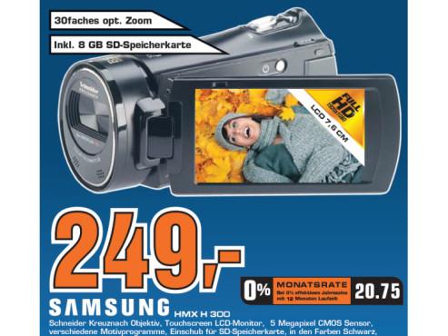 Samsung HMX H 300 ©Saturn