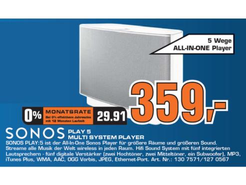 Sonos Play 5 ©Saturn