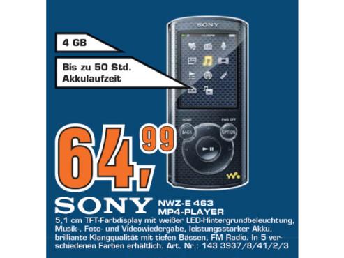 Sony NWZ-E 463 ©Saturn
