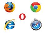 Browser-Nutzung: Microsoft verliert, Google gewinnt ©Mozilla, Google, Opera, Microsoft, Apple
