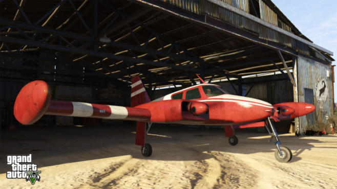 Actionspiel GTA 5: Hangar