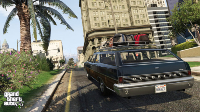 Actionspiel GTA 5: Vinewood in Sicht © Rockstar Games