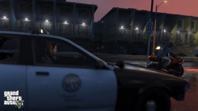 Actionspiel Grand Theft Auto 5: Drive-by-Shooting © Rockstar Games
