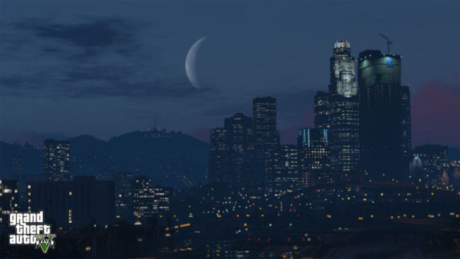Actionspiel Grand Theft Auto 5: Skyline Los Santos © Rockstar Games