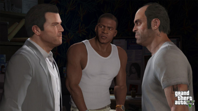 Actionspiel Grand Theft Auto 5: Trio