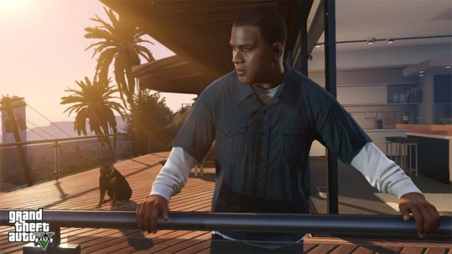 GTA 5: Franklin © Rockstar Games