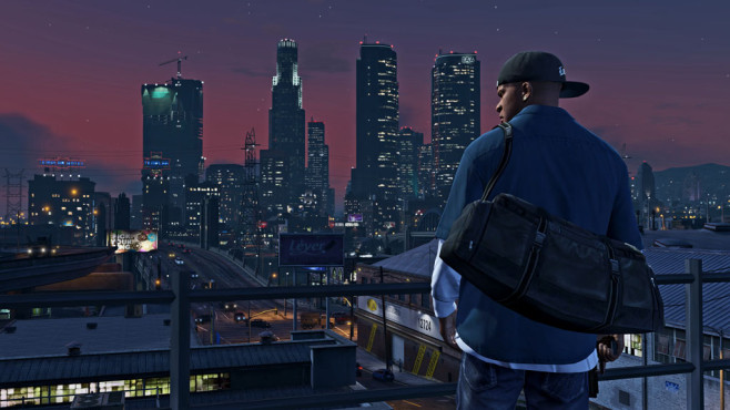 GTA 5: Skyline © Rockstar Games