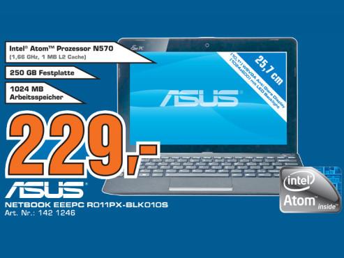 Asus Eee PC R011PX-BLK010S ©Saturn