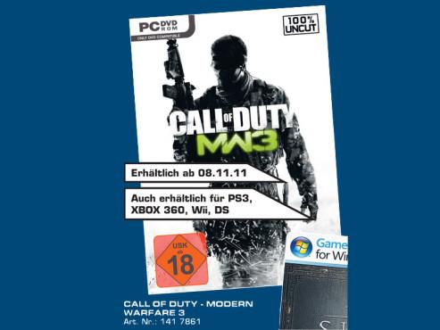 Call of Duty: Modern Warfare 3 ©Saturn