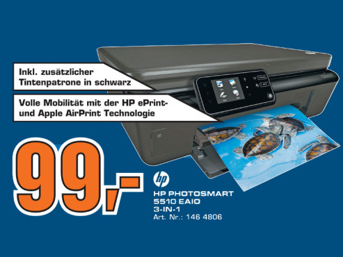 Hewlett-Packard HP Photosmart 5510 ©Saturn