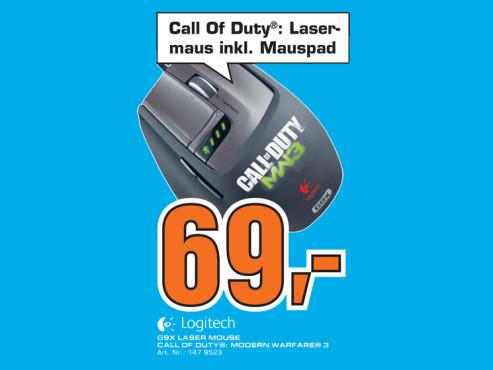 Logitech G9x Lasermaus ©Saturn