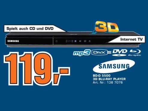 Samsung BD-D5500 ©Saturn