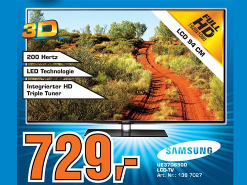 Samsung UE37D6500 ©Saturn