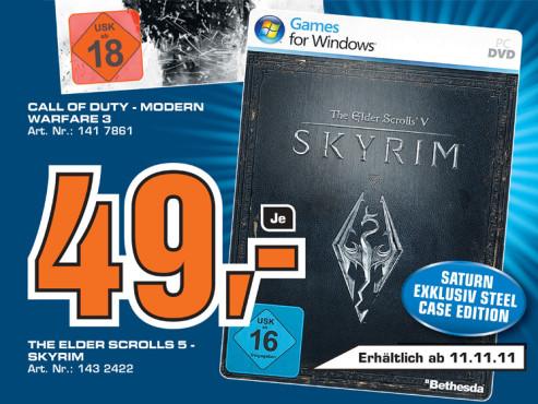 The Elder Scrolls V: Skyrim (PC) ©Saturn