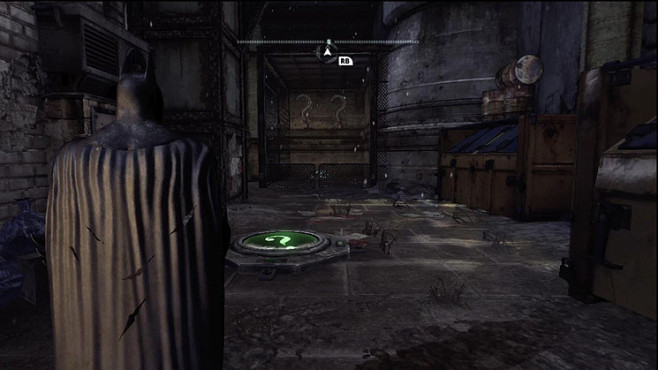 Komplettl�sung Batman � Arkham City: Riddler-Troph�en � The Bowery © Warner Bros.