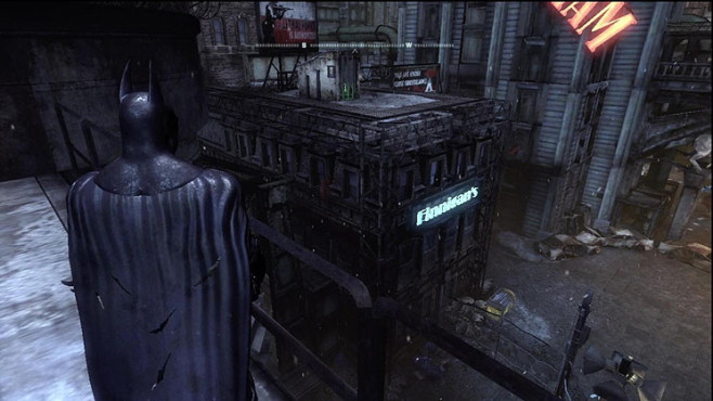 Komplettlösung Batman – Arkham City: Riddler-Trophäen – The Bowery © Warner Bros.