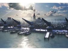 Online-Aufbauspiel Patrizier Online: Hafen ©Gamigo