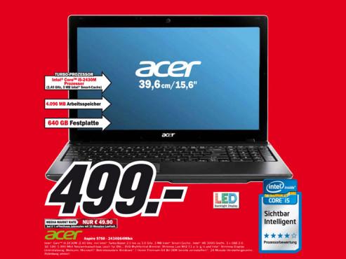 Acer Aspire 5750-2434G64Mikk ©Media Markt