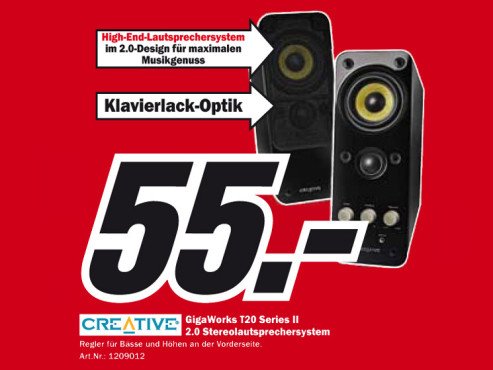 Creative Gigaworks T20 Series II © Media Markt