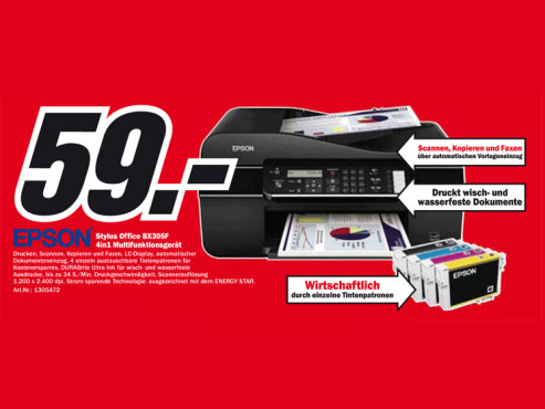 Epson Stylus Office BX305F © Media Markt