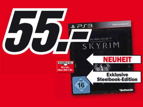 The Elder Scrolls V: Skyrim (PS3) © Media Markt