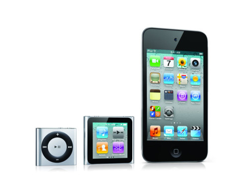 iPod-Produktfamilie © Apple