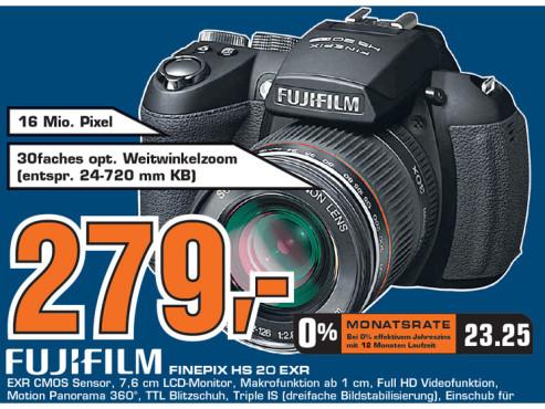 Fujifilm FinePix HS20EXR ©Saturn