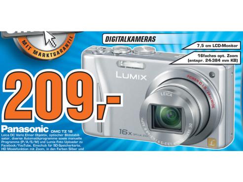 Panasonic Lumix DMC-TZ18 ©Saturn