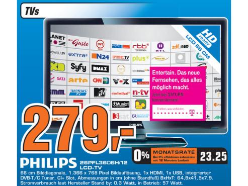 Philips 26PFL3606H/12 ©Saturn