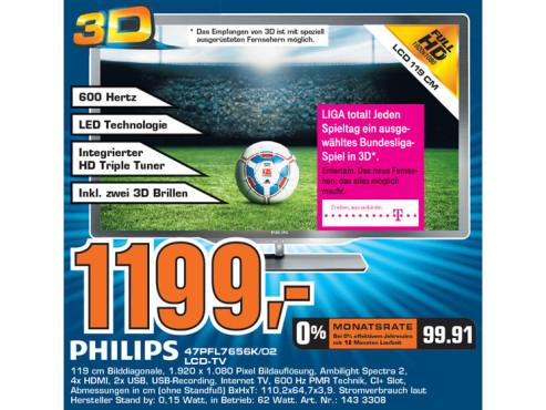 Philips 47PFL7656K/02 ©Saturn