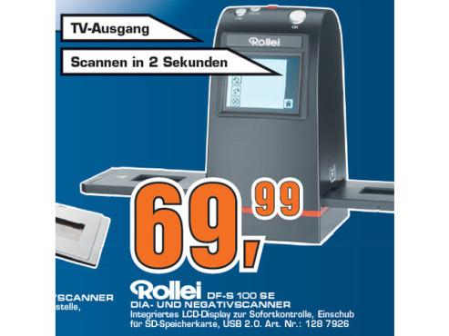 Rollei DF-S 100 SE ©Saturn