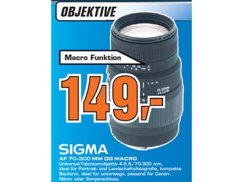 Sigma AF 70-300 mm DG Macro ©Saturn