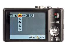 Kontrollmonitor Panasonic Lumix DMC-TZ18 ©COMPUTER BILD