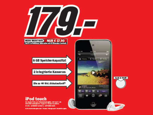 Apple iPod touch © Media Markt