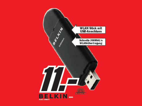 Belkin N300 ©Media Markt