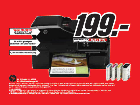 HP Officejet Pro 8500A © Media Markt