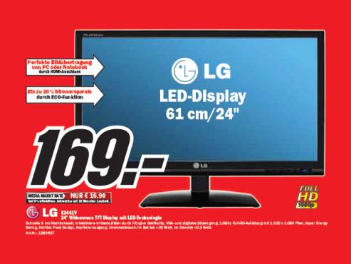 LG E2441V ©Media Markt