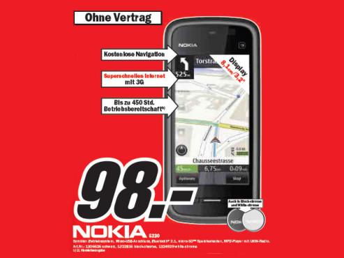 Nokia 5230 ©Media Markt
