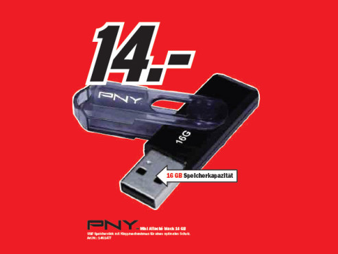 PNY Mini Attach� ©Media Markt