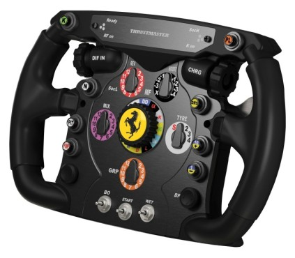 Lenkrad Thrustmaster Ferrari F1 Wheel Add on: Kn�pfe © Thrustmaster