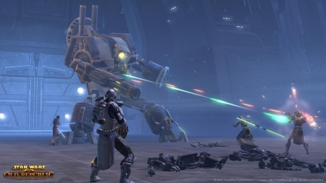 Online-Rollenspiel Star Wars – The Old Republic: Kampf © Electronic Arts