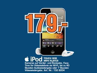 Apple iPod touch 8GB © Saturn