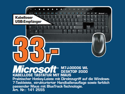 Microsoft M7J-00006 WL Desktop 2000 ©Saturn
