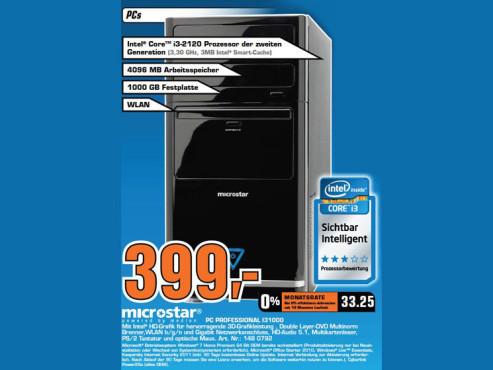 Microstar PC Professional I31000 ©Saturn