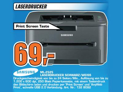 Samsung ML-2525 ©Saturn