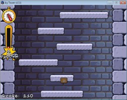 Screenshot 1 - Icy Tower