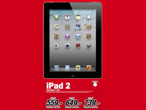 Apple iPad 2 (WiFi + 3G) ©Media Markt