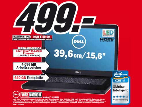 Dell Inspiron 15 N5050 ©Media Markt