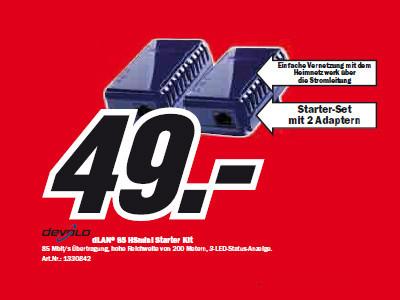 Devolo dLAN 85 HSmini Starter Kit ©Media Markt